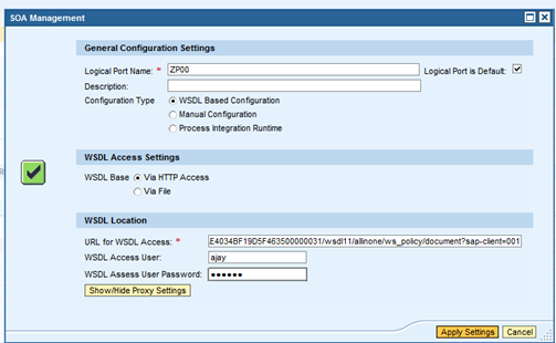 Consuming a web service in ABAP – Sapignite