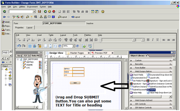 Offline Adobe forms in WebDynPro for ABAP – Sapignite